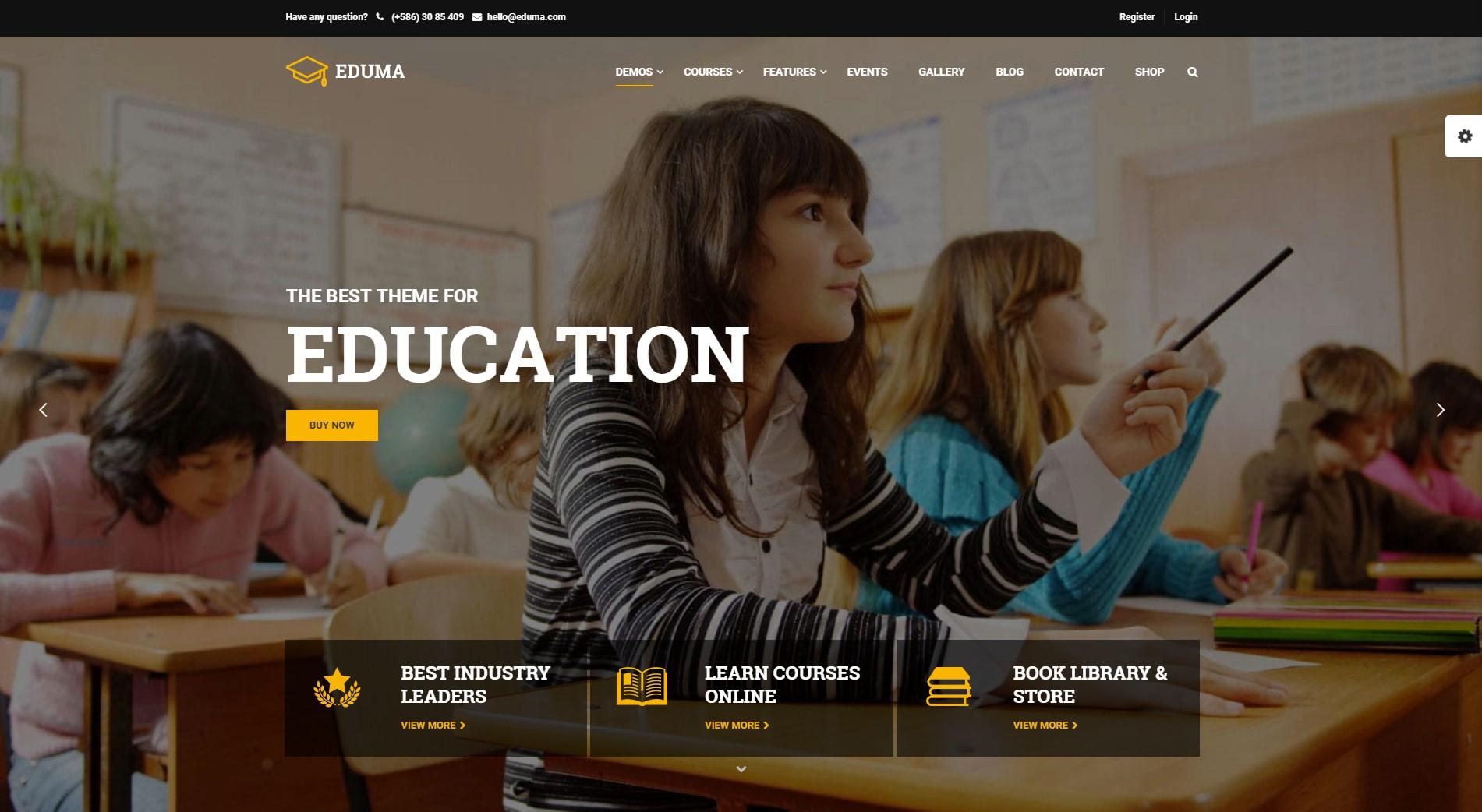 Education WordPress Theme | Education WP Theme