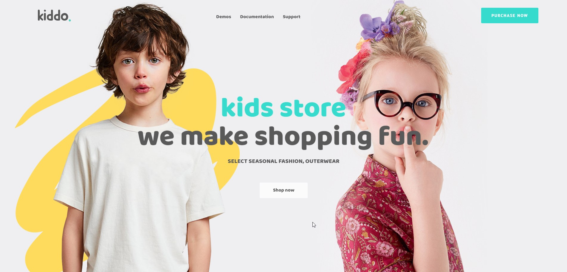 Kiddo - Kid Stores WordPress Theme