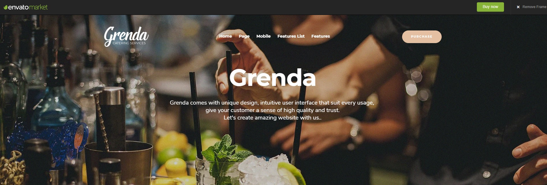 Grenda Event Planner WordPress Theme