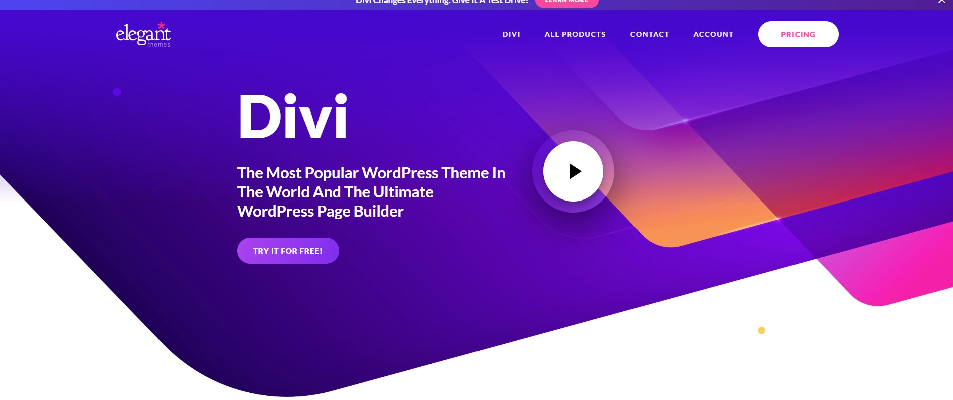 Divi Minimalist WordPress Theme