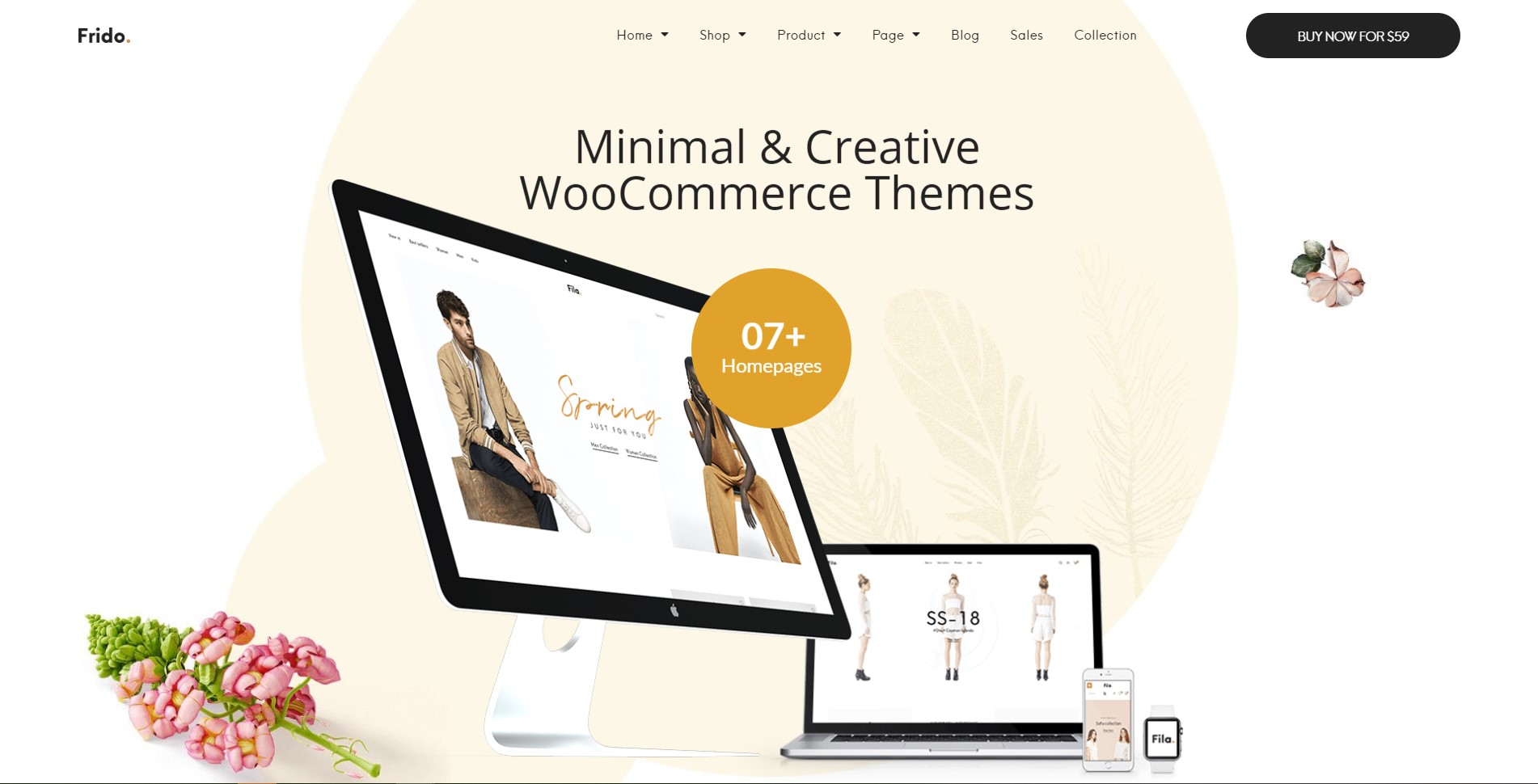 Frido - Minimal & Creative WooCommerce WordPress Theme