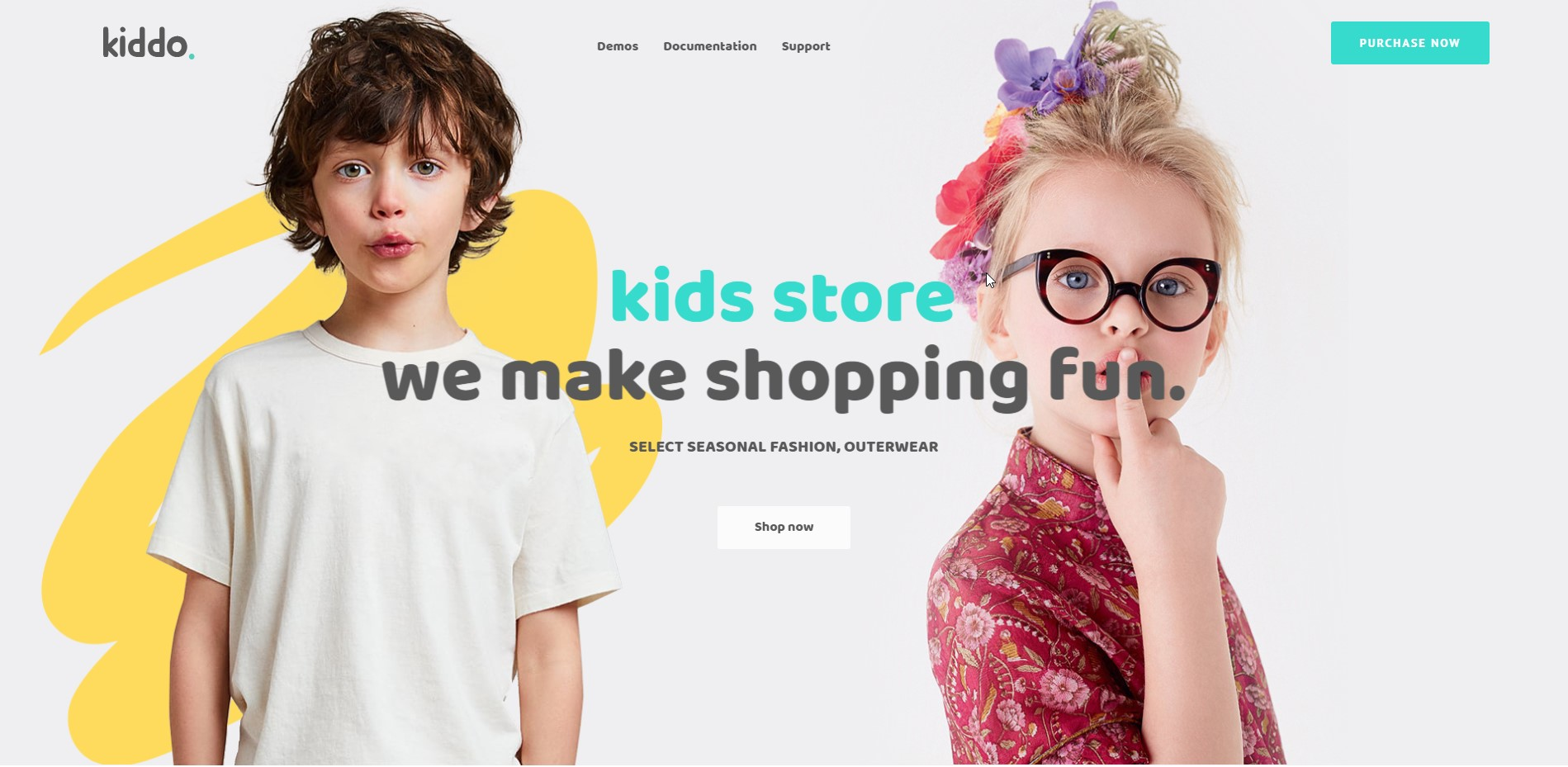 Kiddo - Clean & Adorable Baby & Kid Fashion WooCommerce WordPress Theme