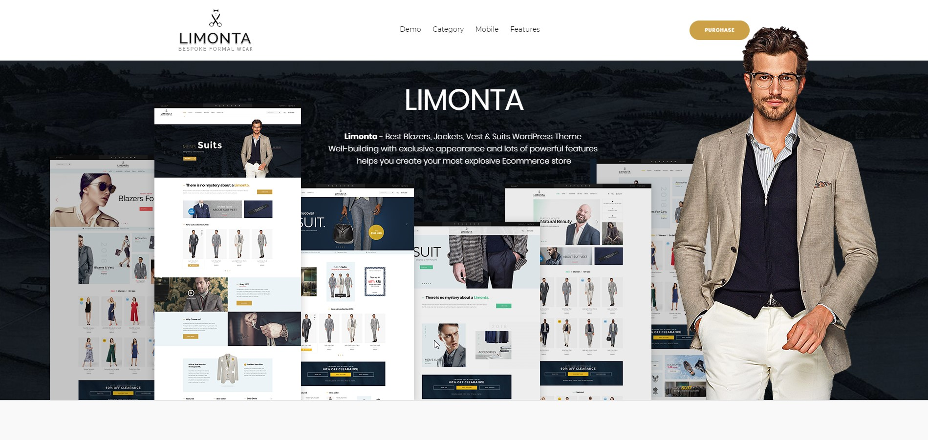 Limonta - Clean Modern Fashion WooCommerce WordPress Theme