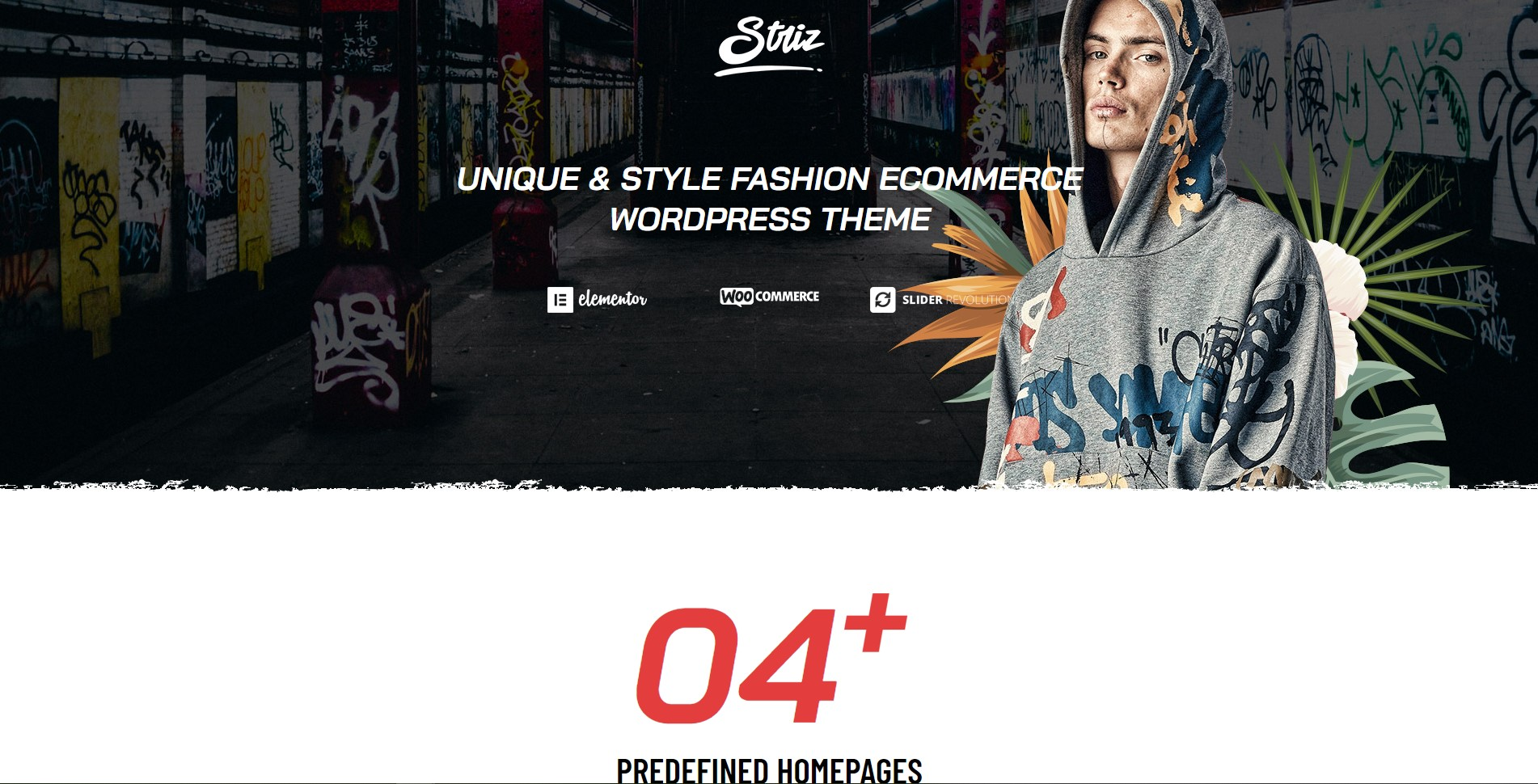 Striz - Clean Fashion Ecommerce WordPress Theme