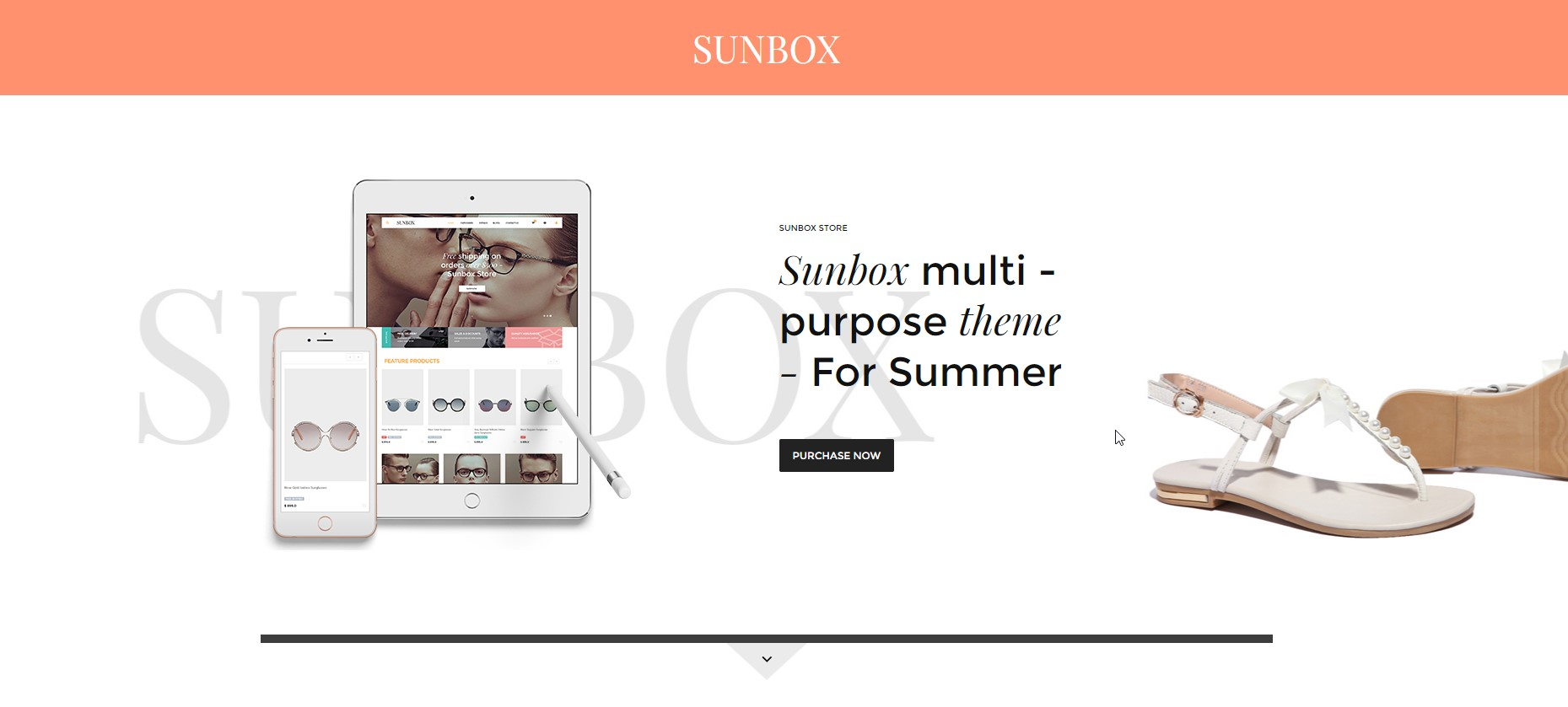 Sunbox - Clean Summershop Multipurpose WooCommerce WordPress Theme