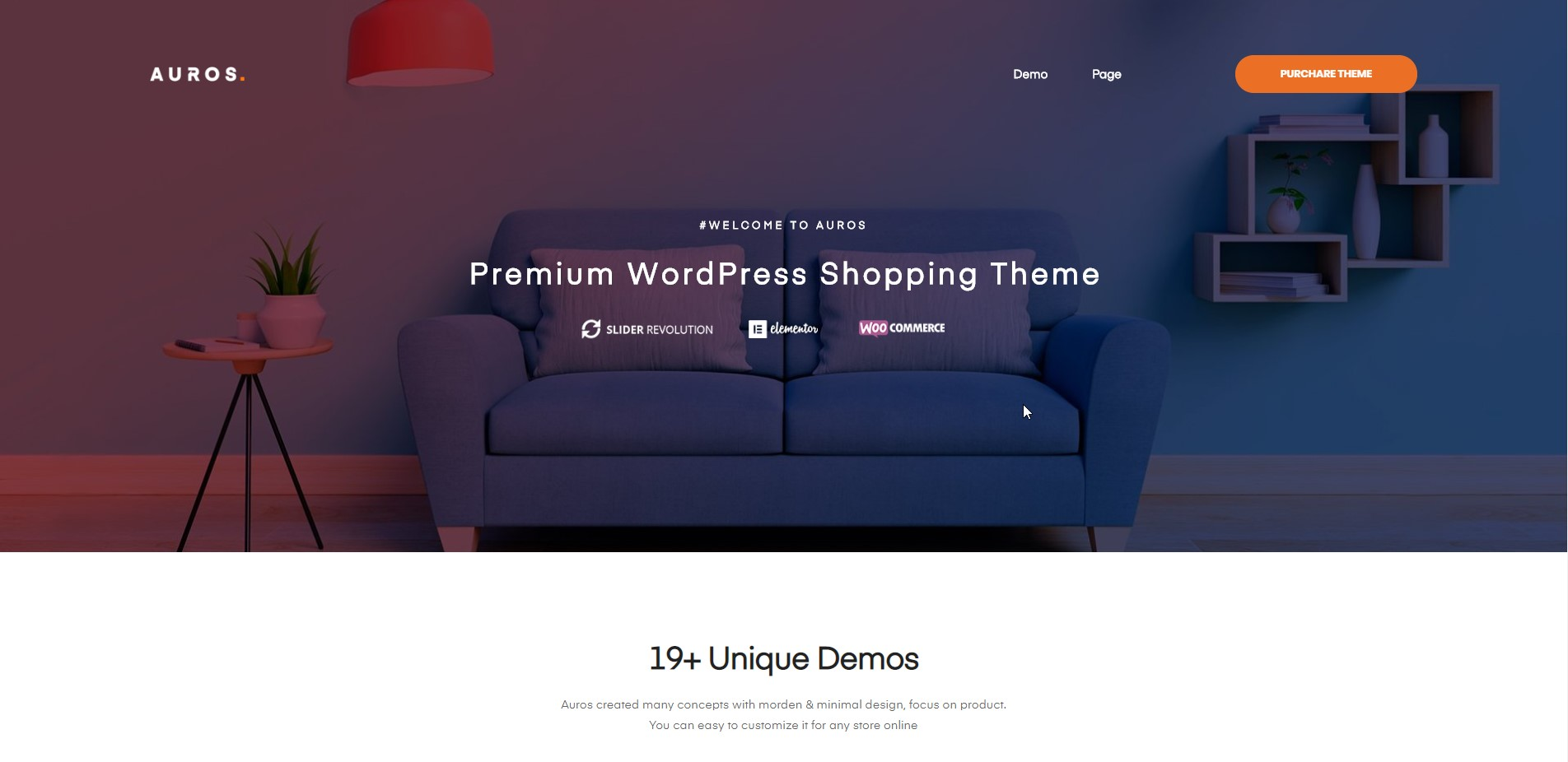 Arous - Furniture WooCommerce Theme