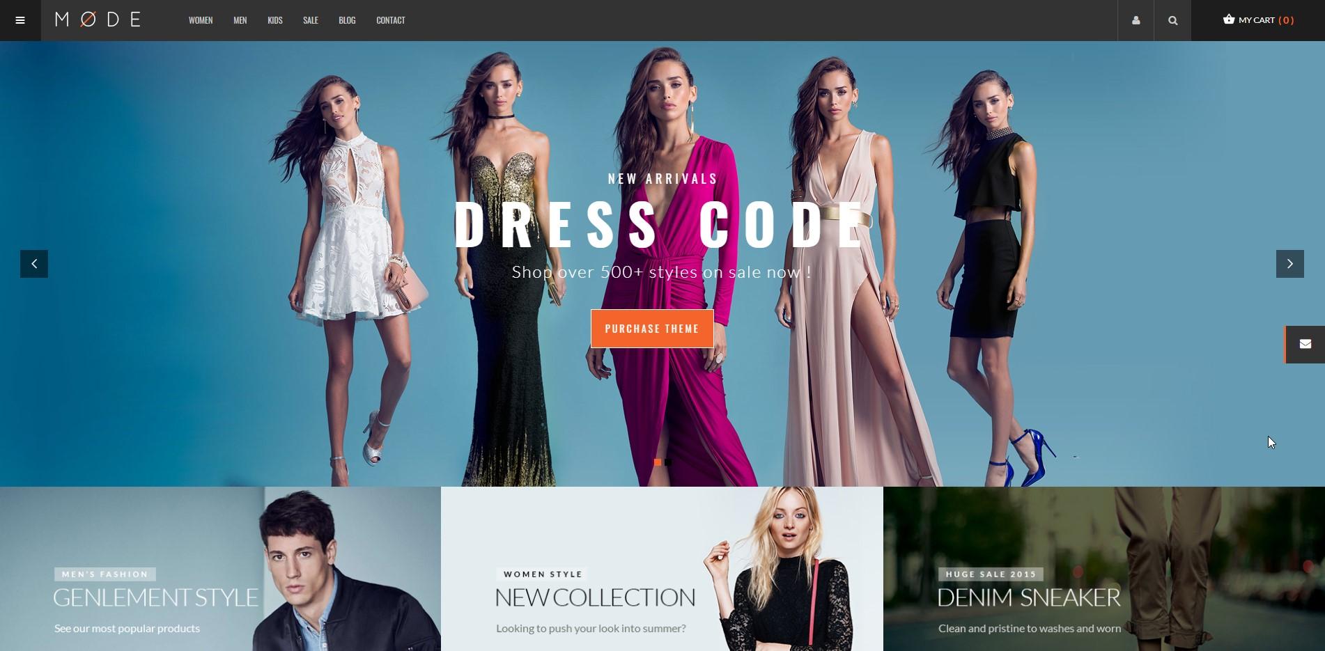 Mode - Fashion WooCommerce Theme