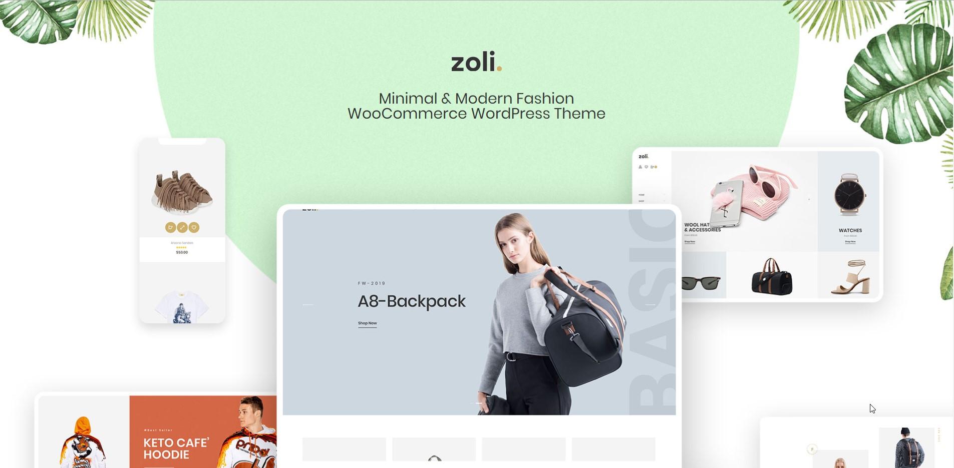 Zoli - Minimal WooCommerce WordPress Theme