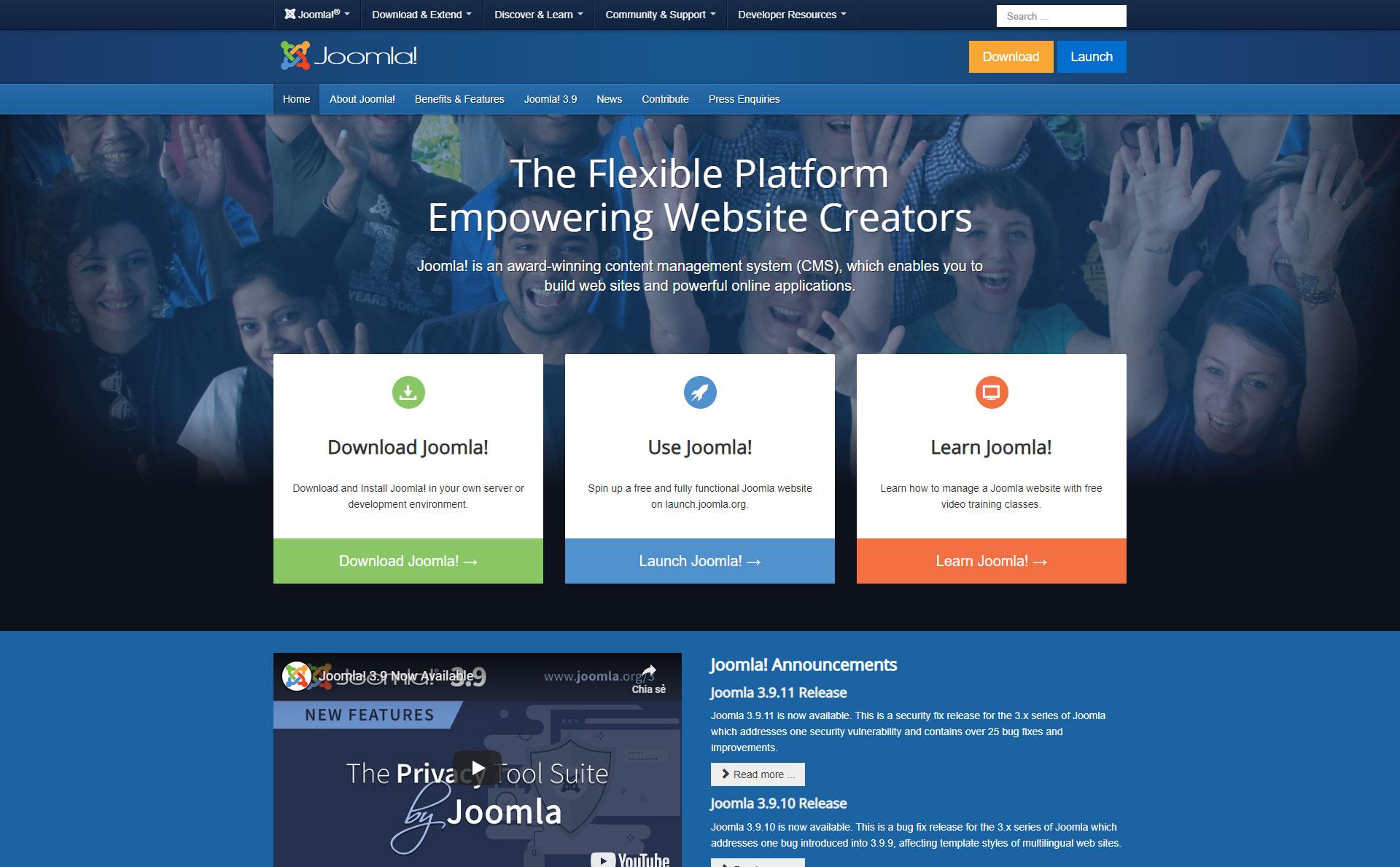 Joomla! - Best Free Content Management System