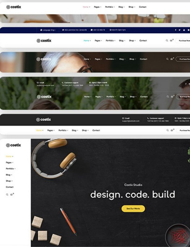 Costix - best multipurpose WordPress theme