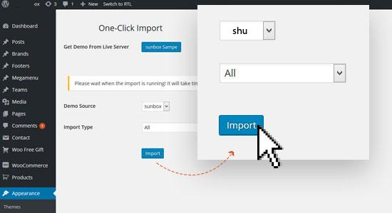 1 click installation