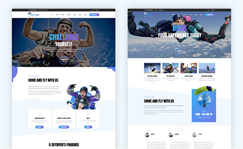 2 Homepage Demos