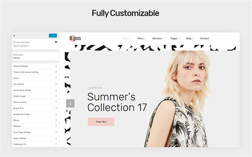 eightpm customization