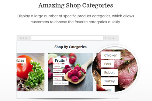 Amazing Shop Categories