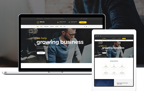 1. Beautiful CorporateBusiness Website WordPress Theme