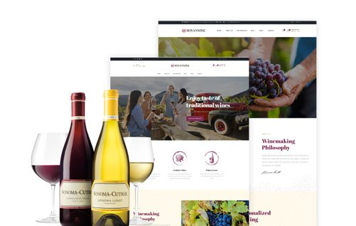 Special Winery & Wine WooCommerce WordPress Theme