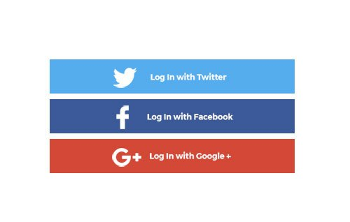 Quickly Login/Signup Account with Social Login