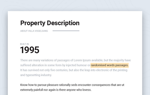 4.Property History