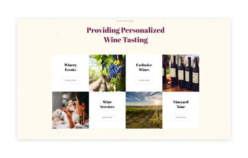 Personalize Wine Services