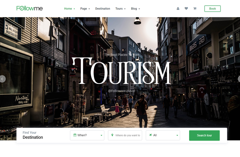 followme free travel wordpress theme
