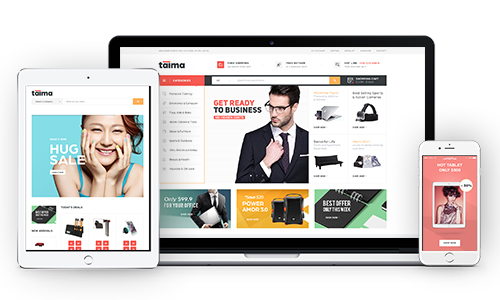 Fully Responsive Electronics WordPress Theme
