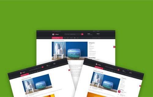Multiple Blog Page Layouts