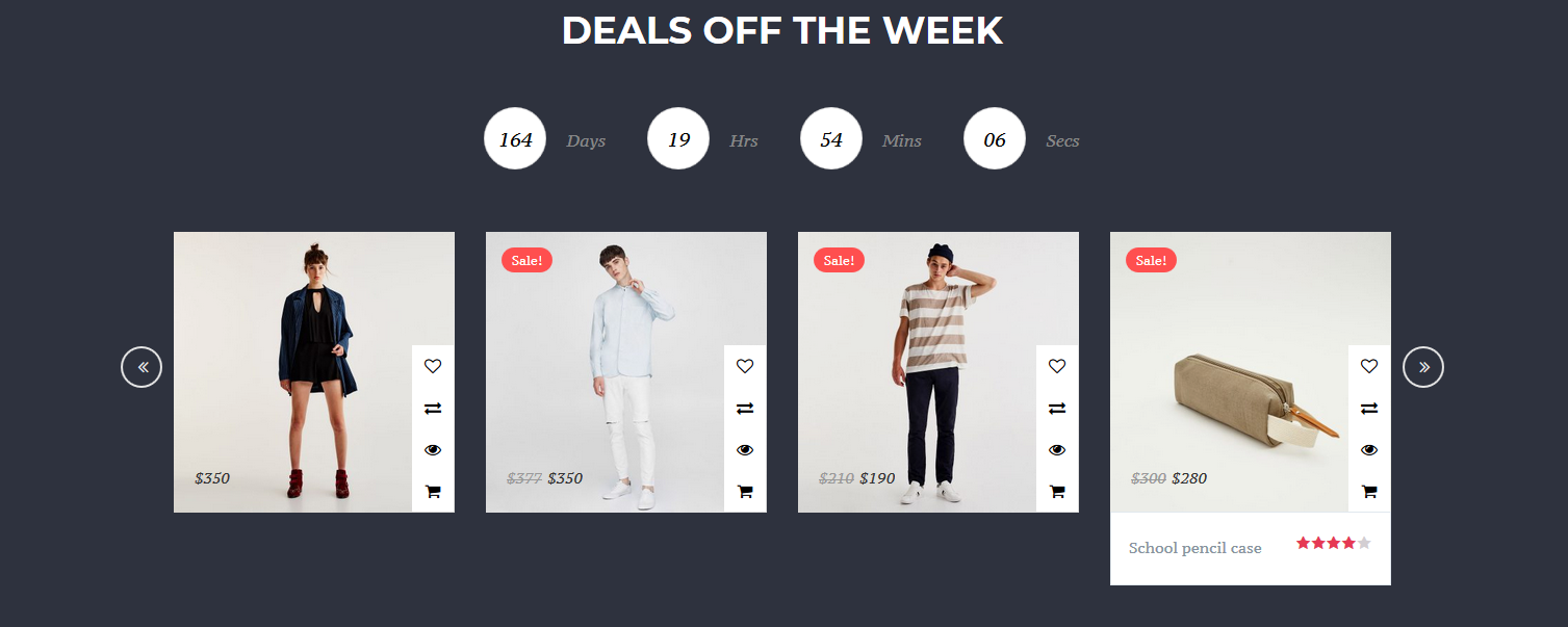 Catchy Daily Deals Section