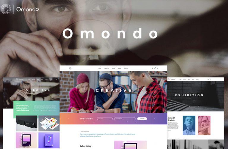 omondo business wordpress theme