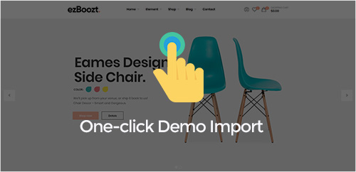 One-click Demo Import