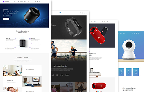 4 Tech-centric Homepages