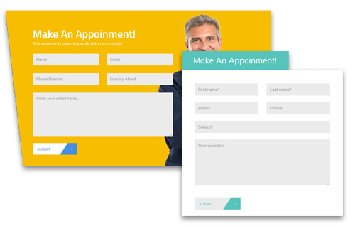 Nice-looking Appointment Schedule Form
