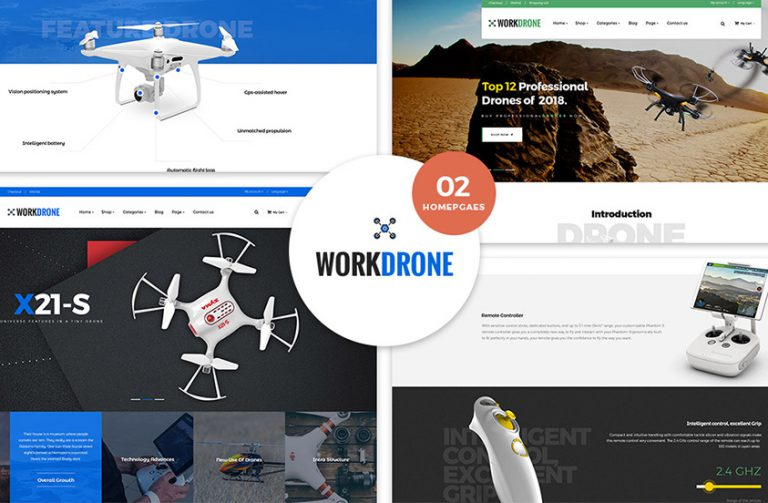 feature Single Product WordPress Theme