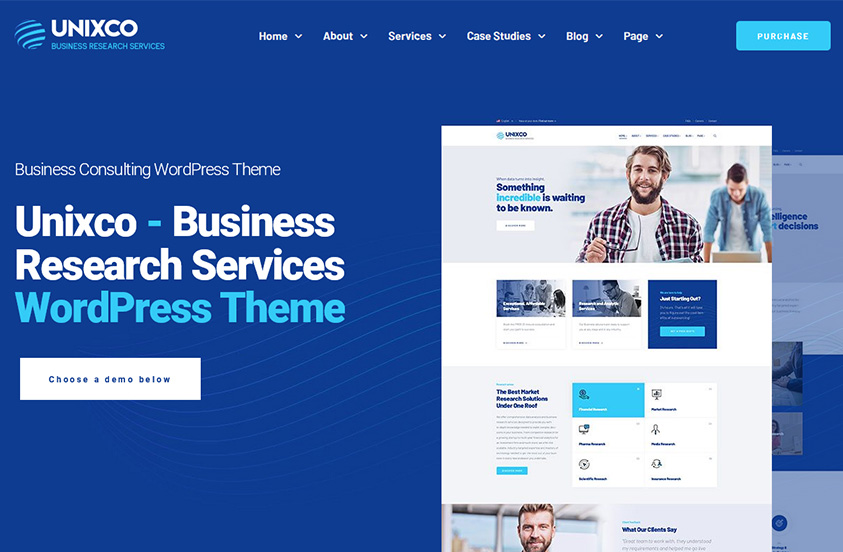 feature business consulting wordpress theme