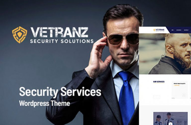 vetranz security wordpress theme